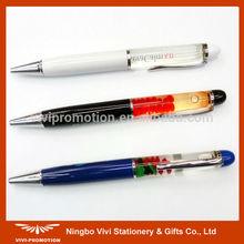 Metal Float Pen with 3D Floater (VBP064)