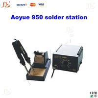 110V / 220V soldering machine Aoyue 950 SMD hot air smd rework soldering station