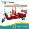 2014 hot sale indian style 48v 650w body opened passenger auto rickshaws for sale