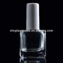 Atacado para lacquer nail art 10 ml prego quadrado polonês garrafas de vidro