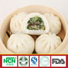 Steamed Stuffed Bun with Mushroom and Vegetable Stuffing