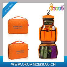 Encai Wholesale Travel Hanging Cosmetic Bag Organizer/Hotel Toiletry Bags/Waterproof Bath Organizer Bags