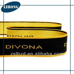 38mm underwear jacquard elastic band, elastic webbing straps