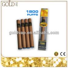 1800 puffs disposable e-cigar most popular disposable e cigarette