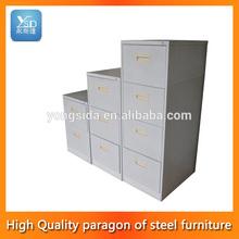 exquisita combinación vertical del cajón de metal del gabinete de archivo
