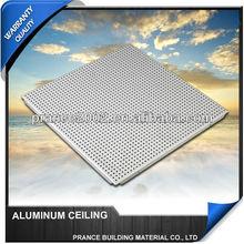 Waterproof decorative bathroom aluminium ceiling price list