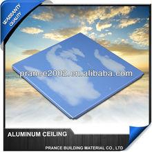 2014 New style 595x595 suspended aluminium ceilings price list