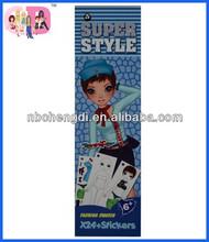 cheap sticker printing ,cheap sticker books,coloring and sticker book