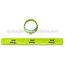Good Quality Reflective Custom Cheap Slap Bracelets