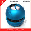 2014 new products rechargeable battery music mini speaker
