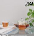 2014 Kanton fuarı! Seramik süzgeç/cam filtre/paslanmaz çelik demlik payreks cam demlik, cam çaydanlık