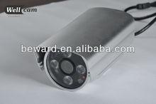 H.264 720P Hisiclicon3516 CPU 900MHz Hi Focus IR POE home surveillance camera installation