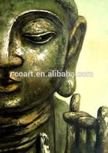 Pure HandmadeModern Acrylic Buddha Oil Painting on Canvas