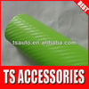 TSAUTOP RoHS certificate 1.52*30m air free bubble apple green carbon fiber sheet self adhesive