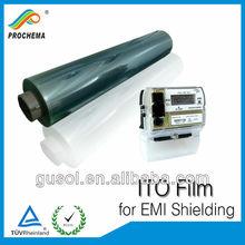 ITO transparent conductive film used for EMI Shielding