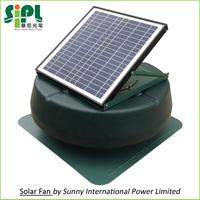 New Home Appliances! 14 inch Air Conditioning Attic Ventilation Fan Powered by 20 watt Solar Panel