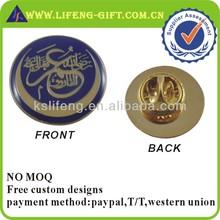 Custom Gold Epoxy Coating Badge