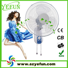 KB-1610 china high power electric mounted 16 inch wall fan
