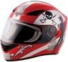 Full face racing helmet, motorcycle helmet