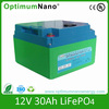 Deep Cycle and High Quality Lithium Ion Battery 12V