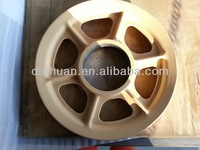 Marine pulley cast iron parts