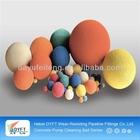 Zoomlion DN125(5 inch) concrete Cleaning sponge rubber balls