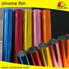 Carlas factory direct sale silver car wrap chrome vinyl film