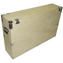 "37"" Plasma LCD - 1/2"" Bare Wood Crate Style Case - Kit Form mixer dj effects aluminum box"