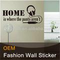 popular de madeira da parede adesivos para decoração de casa