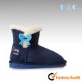 Hc-528 venta caliente baratos armada de invierno botas de arco para los niños