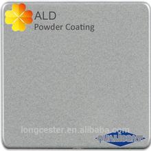 silver metallic powder coating