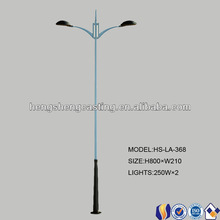 Road,high way ,street Application and double-arm Type street light pole