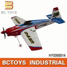 Hot!! 435mm length 2.4g stunt foam balsa rc airplane kits ws9117 HY0069514