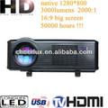 Home theater portátil suporte projetor de dvd com diodo emissor de luz, multimedia com a função de tv digital av jogo usb s- vídeo