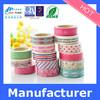 2015 hot designs new pattern custom printed decorative washi tape