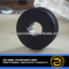Grey Cast Iron Straight Bore V- Belt Pulley With Key Way