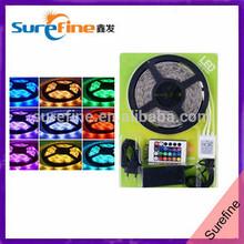 superbright RGB 5050 IP65 Waterproof 60 leds per meter SMD LED strip light