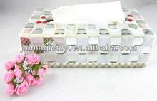 K-WTB 10 DIY Home Decoration Tissue Box Adult Mosaic Craft Set