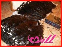 100% Virgin Hair Bulk Chinese Remy Virgin Hair Extension Hair Bulk
