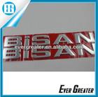 custom chrome car badge 3D plastic badge custom auto lettering chrome letter sticker metal badge for car plastic chrome baddes