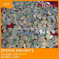 3M disc type adhesive sintered NdFeB neodymium magnet