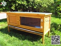 Wooden pet kennel XR 10109