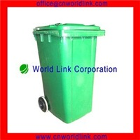 240L With EN840 Plastic Color Coded Waste Bins