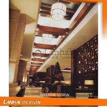 Modern Hotel Hall 3D Interior Design