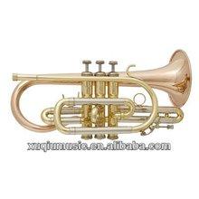 Professional Cornet/Gold Brass Cornet/Cheap Pocket Cornet