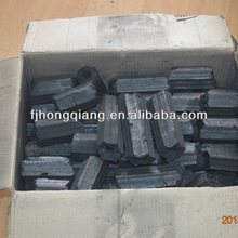 Low ash high value hexagonal barbecue coal