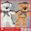 venta al por mayor de encargo de juguete de felpa oso sin relleno de la piel