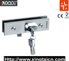 glass door patch fitting and hinge with lock YG8050