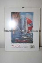 18*24cm clip frame with E1 Degree MDF backboard safe packaging
