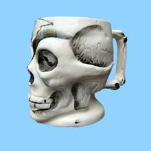 Antique Halloween Skeletion Magic Mug Ceramic Mug Cup